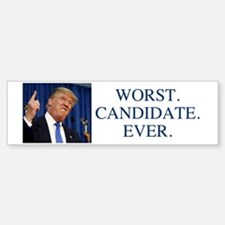 Funny Presidential candidates Sticker (Bumper)