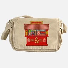 Movie Theater Concessions Stand Messenger Bag