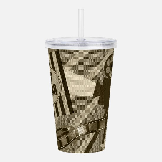 Cute Cinema Acrylic Double-wall Tumbler
