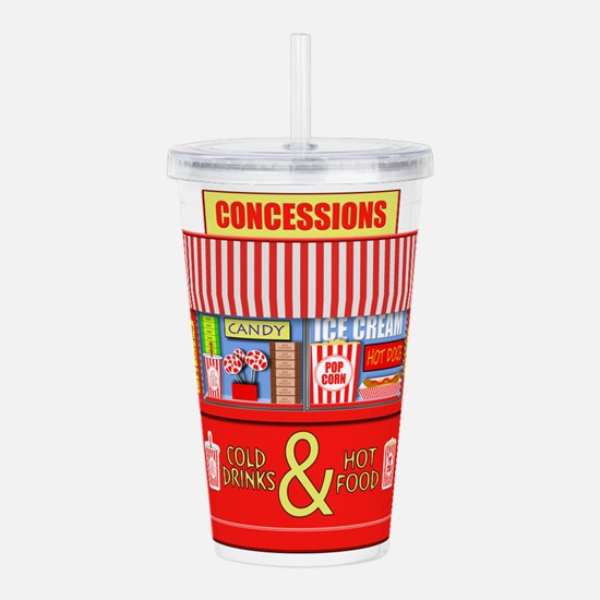 Movie Theater Concessi Acrylic Double-wall Tumbler