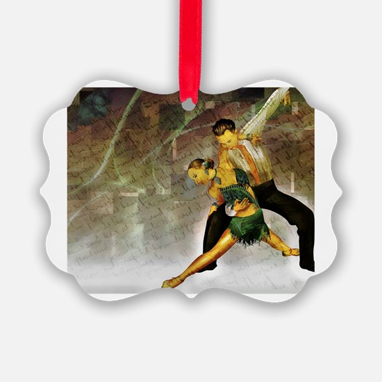 Cute Salsa dancing Ornament