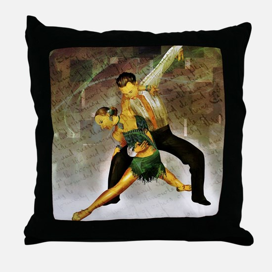 Professional dancers Throw Pillow