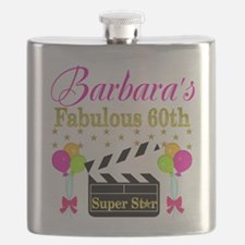 STYLISH 60TH Flask