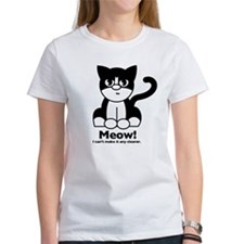 """""""Meow! I can't make it any clearer"""" Tee"""