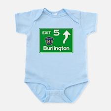 NJTP Logo-free Exit 5 Burlington Body Suit