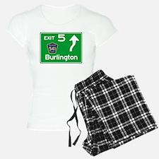 NJTP Logo-free Exit 5 Burli pajamas