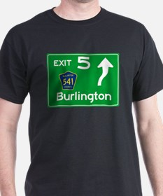 NJTP Logo-free Exit 5 Burlington T-Shirt