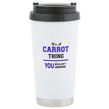 Unique Carrots Travel Mug