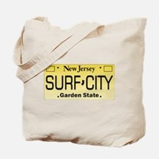 Surf City NJ Tag Giftware Tote Bag