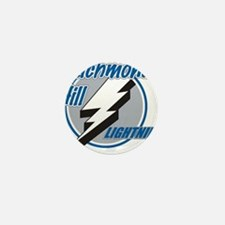Richmond Hill Lightning Mini Button