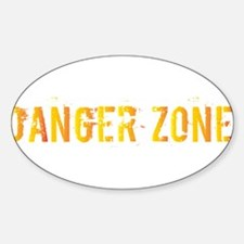 Danger Zone Decal