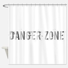 Danger Zone Shower Curtain