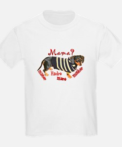 Momma's Day Dachshunds T-Shirt