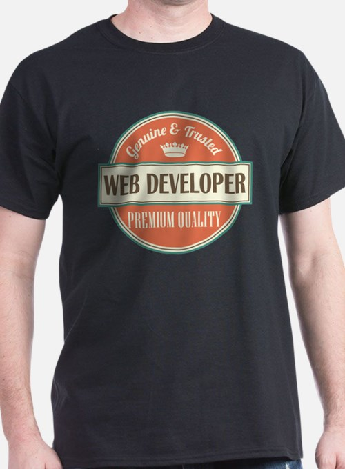 web developer vintage logo T-Shirt