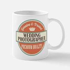 wedding photographer vintage logo Mug