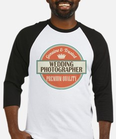 wedding photographer vintage logo Baseball Jersey