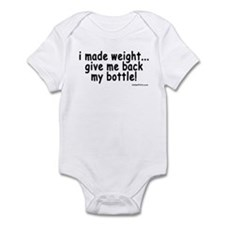 i made weight! Infant Bodysuit