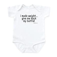 i made weight! Onesie