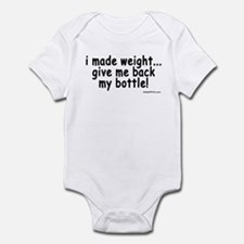 i made weight! Onesie