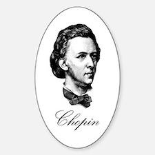 Chopin Oval Decal