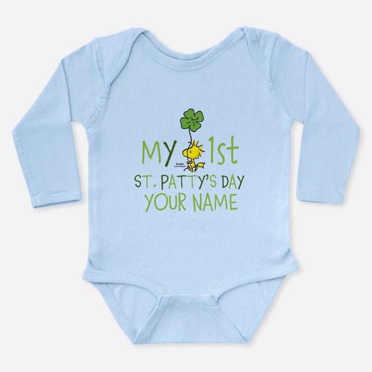 Peanuts - My 1st St. P Long Sleeve Infant Bodysuit