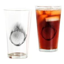 Soul on fire Drinking Glass