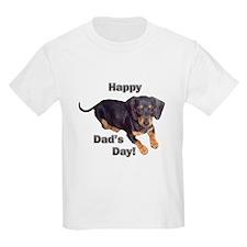 Happy Dad's Day Dachshund T-Shirt