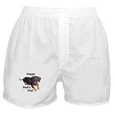 Happy Dad's Day Dachshund Boxer Shorts