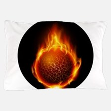 Soul on fire Pillow Case