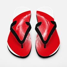 Soul on fire Flip Flops
