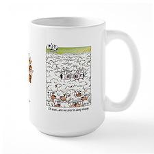 Deep Sheep Coffee Mug