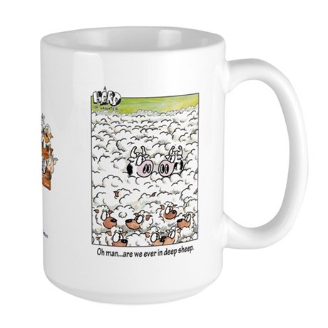 Deep Sheep Large Mug