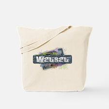 Wausau Design Tote Bag