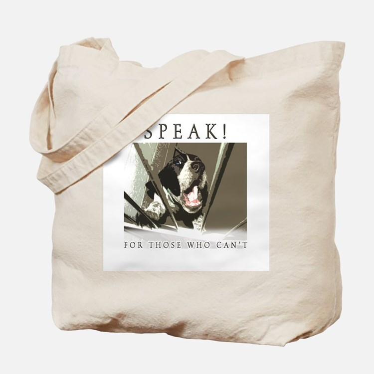 Speak! Regular Tote Bag