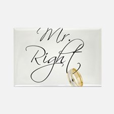 Mr. Right Groom Magnets