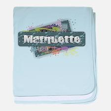Marquette Design baby blanket