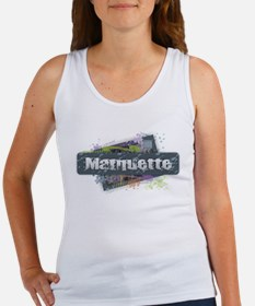 Marquette Design Tank Top