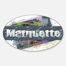 Marquette Design Decal