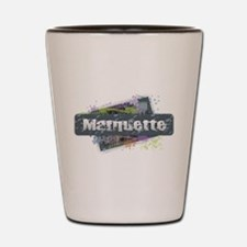 Marquette Design Shot Glass