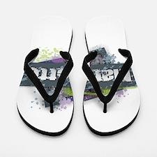 Marquette Design Flip Flops