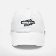 Marquette Design Baseball Baseball Cap