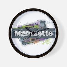 Marquette Design Wall Clock
