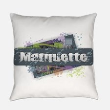 Marquette Design Everyday Pillow