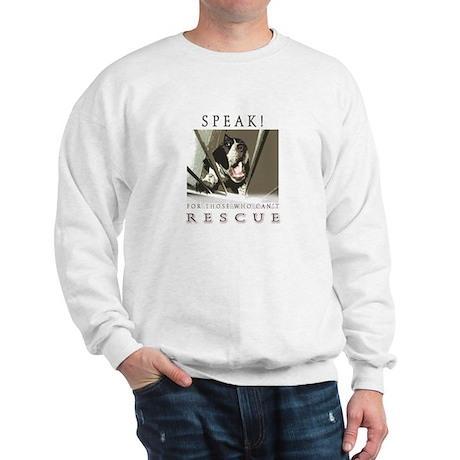 Speak! Rescue Sweatshirt