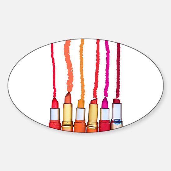Lipstick color Decal