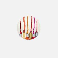 Lipstick colors Mini Button