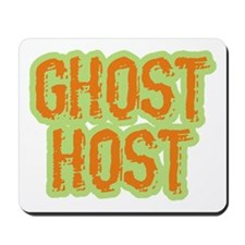 Ghost Host Halloween Costume Mousepad