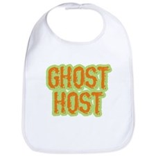 Ghost Host Halloween Costume Bib