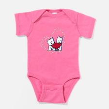 Allstar Westie Love Baby Bodysuit
