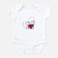 Allstar Westie Love Infant Bodysuit